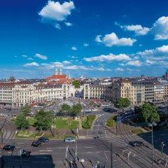 Hotel Königshof Мюнхен балкон