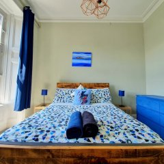 Апартаменты Gorgeous Light Apartment In West End Глазго комната для гостей фото 3