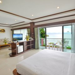 Отель Tri Trang Beach Resort by Diva Management комната для гостей фото 16