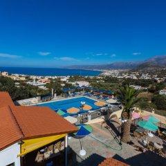 Отель Bella Vista Stalis Hotel Греция, Сталис - отзывы, цены и фото номеров - забронировать отель Bella Vista Stalis Hotel онлайн бассейн