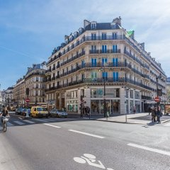 Апартаменты Apartment Ws Hôtel De Ville – Le Marais Париж вид на фасад
