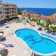 Отель Blue Horizon Apartments Черногория, Будва - отзывы, цены и фото номеров - забронировать отель Blue Horizon Apartments онлайн бассейн фото 2