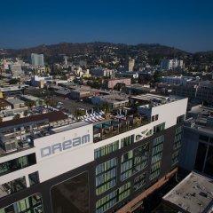 Отель Dream Hollywood США, Лос-Анджелес - отзывы, цены и фото номеров - забронировать отель Dream Hollywood онлайн балкон