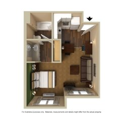Отель Extended Stay America - Meadowlands - East Rutherford балкон