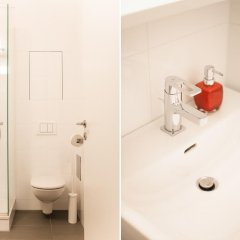 Апартаменты Prater Apartments ванная