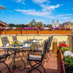 Отель At The Spanish Steps View Италия, Рим - отзывы, цены и фото номеров - забронировать отель At The Spanish Steps View онлайн балкон
