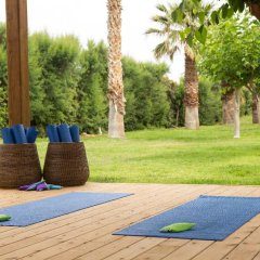 Отель Cretan Malia Park фитнесс-зал фото 4