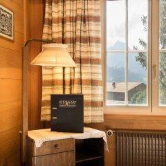 Отель Gstaad - Amazing Lake Chalet удобства в номере