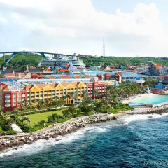 Отель Renaissance Curacao Resort & Casino пляж фото 2