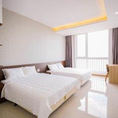 Отель SunEx Luxury Apartment Вьетнам, Вунгтау - отзывы, цены и фото номеров - забронировать отель SunEx Luxury Apartment онлайн комната для гостей фото 5