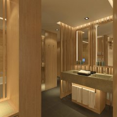 Отель Conrad Seoul Южная Корея, Сеул - 1 отзыв об отеле, цены и фото номеров - забронировать отель Conrad Seoul онлайн ванная фото 2