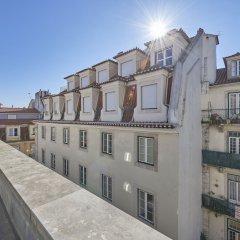 Отель Salgadeiras Suites балкон