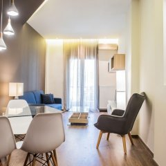 Отель Danae Apartment by QR booking Греция, Салоники - отзывы, цены и фото номеров - забронировать отель Danae Apartment by QR booking онлайн комната для гостей фото 4
