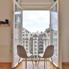 Отель Fr.balcony-trendy neighborhood-2BR 45sqm Австрия, Вена - отзывы, цены и фото номеров - забронировать отель Fr.balcony-trendy neighborhood-2BR 45sqm онлайн балкон