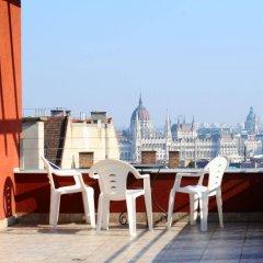 Hotel Papillon Будапешт балкон