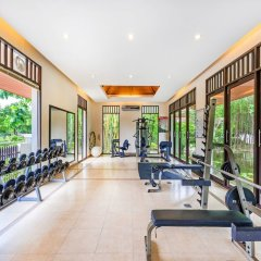 Отель Duangjitt Resort, Phuket фитнесс-зал фото 2