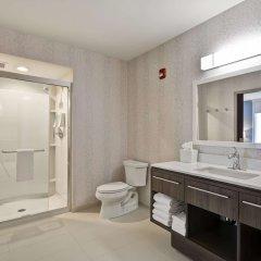 Отель Home2 Suites by Hilton Columbus Airport East Broad США, Колумбус - отзывы, цены и фото номеров - забронировать отель Home2 Suites by Hilton Columbus Airport East Broad онлайн ванная фото 2