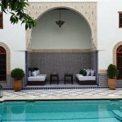 Отель Riad les Idrissides Марокко, Фес - отзывы, цены и фото номеров - забронировать отель Riad les Idrissides онлайн бассейн фото 2
