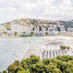 Отель Portofino Испания, Санта-Понса - отзывы, цены и фото номеров - забронировать отель Portofino онлайн пляж