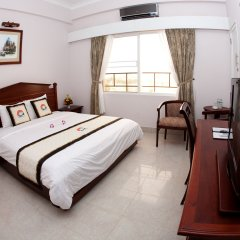 Отель Ocean Star Hotel Вьетнам, Вунгтау - отзывы, цены и фото номеров - забронировать отель Ocean Star Hotel онлайн комната для гостей фото 4