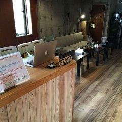 Отель Capsule@Hakata Хаката интерьер отеля