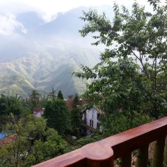 Отель Cat Cat View Вьетнам, Шапа - отзывы, цены и фото номеров - забронировать отель Cat Cat View онлайн балкон