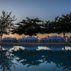 Отель Relais Castelbigozzi Строве приотельная территория