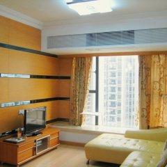 Апартаменты She & He Service Apartment - Huifeng комната для гостей фото 4