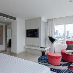 Отель Centara Watergate Pavillion Hotel Bangkok Таиланд, Бангкок - 4 отзыва об отеле, цены и фото номеров - забронировать отель Centara Watergate Pavillion Hotel Bangkok онлайн комната для гостей фото 5
