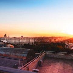 Отель Vp Plaza Espana Design Мадрид приотельная территория