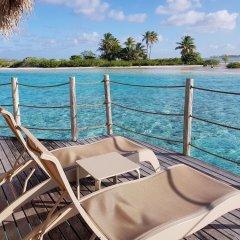Отель Tikehau Pearl Beach Resort балкон