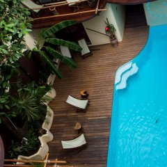 Отель Kinbe Deluxe Boutique Плая-дель-Кармен бассейн фото 3