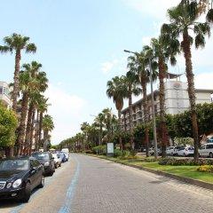 Отель Miray Аланья парковка
