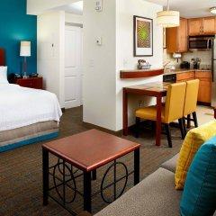Отель Residence Inn by Marriott Columbus Downtown США, Колумбус - отзывы, цены и фото номеров - забронировать отель Residence Inn by Marriott Columbus Downtown онлайн комната для гостей