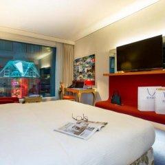 Отель Radisson Blu Hotel Zurich Airport Швейцария, Цюрих - 1 отзыв об отеле, цены и фото номеров - забронировать отель Radisson Blu Hotel Zurich Airport онлайн комната для гостей фото 3
