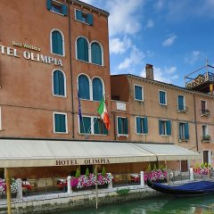 Hotel Olimpia Venice, BW signature collection Венеция вид на фасад