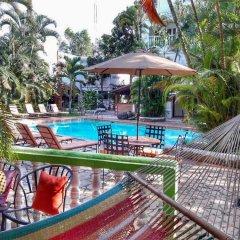 Отель Camino Maya Ciudad Blanca Гондурас, Копан-Руинас - отзывы, цены и фото номеров - забронировать отель Camino Maya Ciudad Blanca онлайн бассейн фото 2