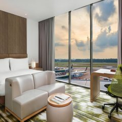 Отель Crowne Plaza Changi Airport Сингапур комната для гостей фото 3