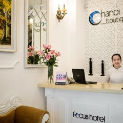 Отель Hanoi Focus Boutique Hotel Вьетнам, Ханой - 1 отзыв об отеле, цены и фото номеров - забронировать отель Hanoi Focus Boutique Hotel онлайн интерьер отеля фото 3