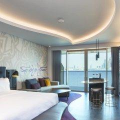Отель W Dubai The Palm Дубай комната для гостей фото 4