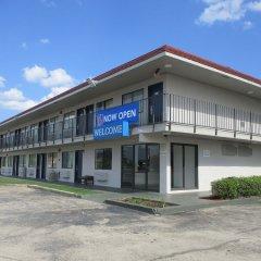 Отель Motel 6 Meridian Mississippi парковка