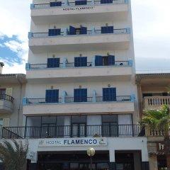 Отель Hostal Flamenco вид на фасад фото 2