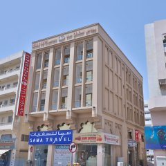 OYO 261 Remas Hotel Apartment Дубай вид на фасад