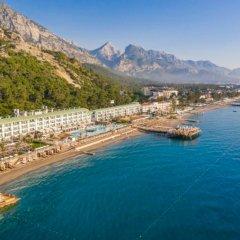 Yelken Blue Life Hotel пляж