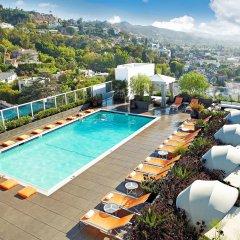 Отель Andaz West Hollywood Уэст-Голливуд бассейн