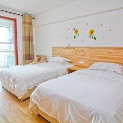 Отель Xiaoqi Yizhan Xi'an Dayanta Xinlvcheng Китай, Сиань - отзывы, цены и фото номеров - забронировать отель Xiaoqi Yizhan Xi'an Dayanta Xinlvcheng онлайн комната для гостей фото 2