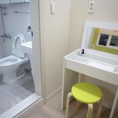 Отель Albergue Guesthouse Korea ванная