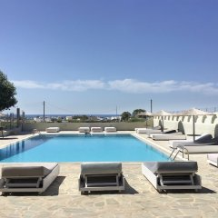 Отель Thera Mare Hotel Греция, Остров Санторини - 1 отзыв об отеле, цены и фото номеров - забронировать отель Thera Mare Hotel онлайн бассейн