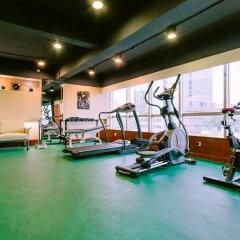 Апартаменты Ocean Plaza(Apartment) Гуанчжоу фитнесс-зал