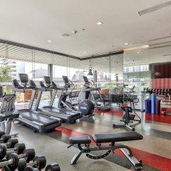 Отель Doubletree By Hilton Sukhumvit Бангкок фитнесс-зал фото 3